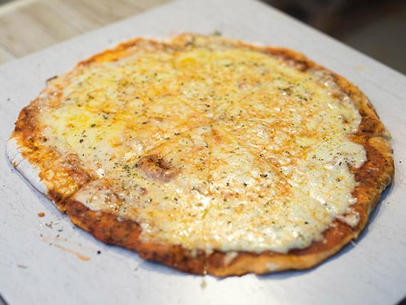Pizzeta cinco quesos