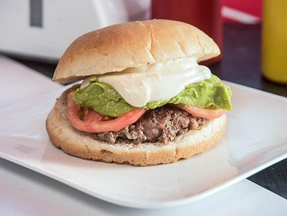 Hamburguesa casera italiana (250 g)