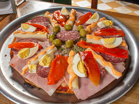 Pizza especial Pata Pizza