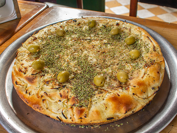 Pizza fugazzeta rellena