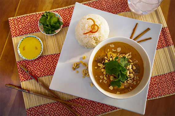 Massaman curry de lomo
