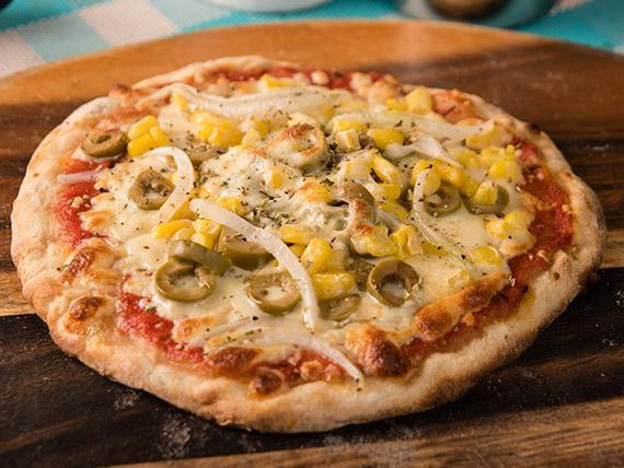 Promo Per Me - Pizza individual con 2 ingredientes + bebida en lata
