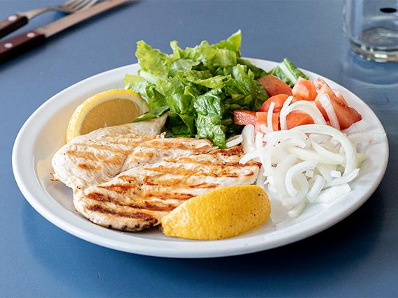 Promo - 1/4 pollo grille con ensalada