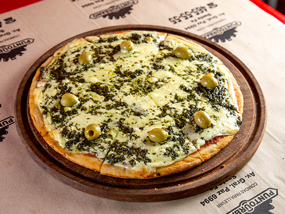 Pizza a la provenzal