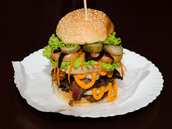 002 - Hambúrguer double Bocca