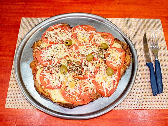 Pizzanesa de napolitana con ajo