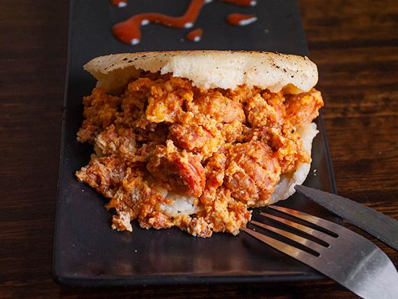 Arepa Chorizo