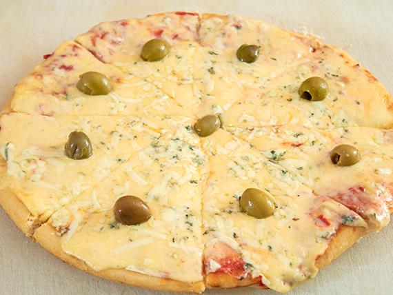 Pizza al roquefort
