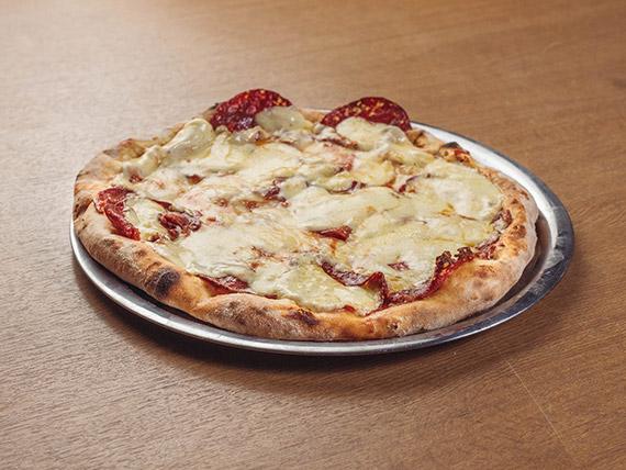 Pizza cantimpalo (8 porciones)