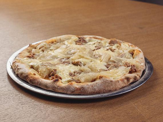 Pizza con atún I (8 porciones)
