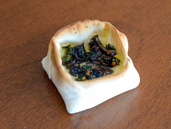 Canastita de champignones
