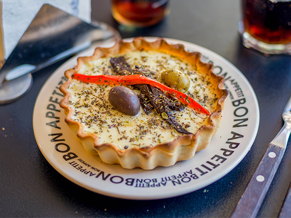 Tarta de ternera, muzzarella y ricota