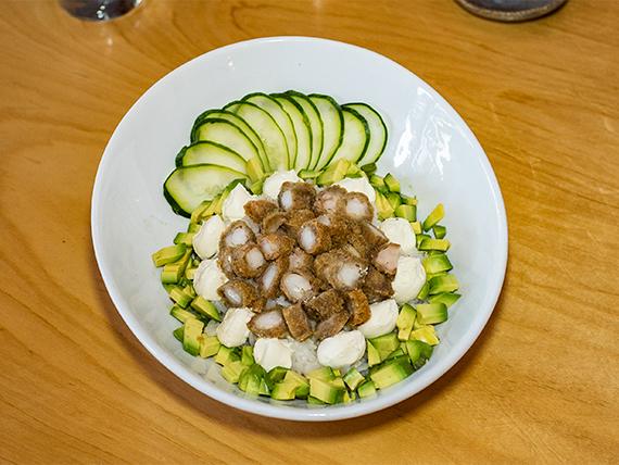 Sushi salad futu
