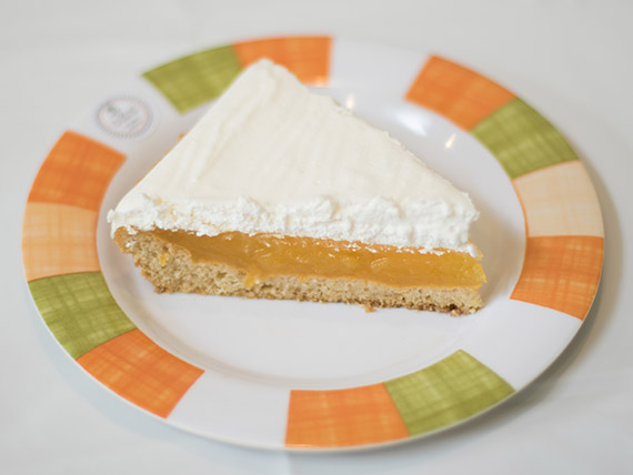 Lemon pie vegano