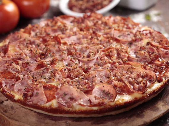 Pìzza meat & bacon