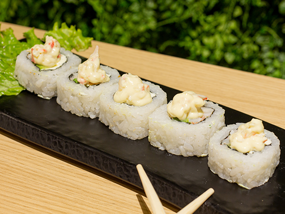 Shrimp hot roll (5 piezas)