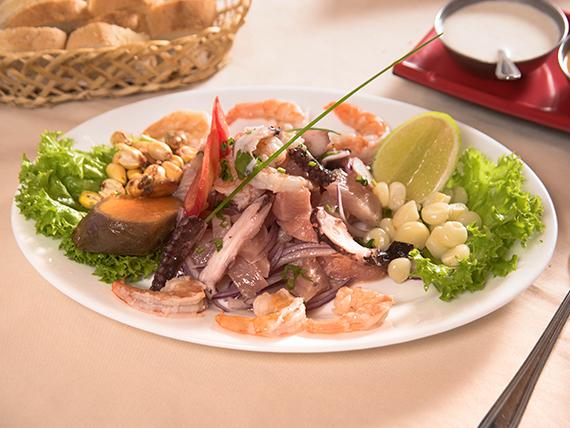 Ceviche Pisco & Sabor