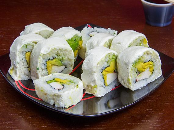 Kani cheese roll (10 piezas)