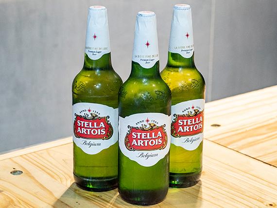 Promo 13 - 3 cervezas Stella Artois 1 L