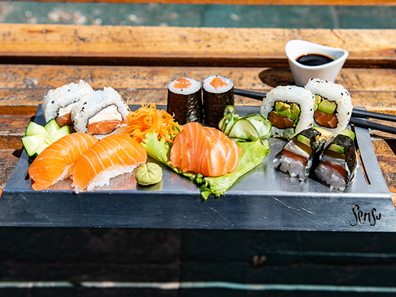 Combo salmón premium - 12 piezas