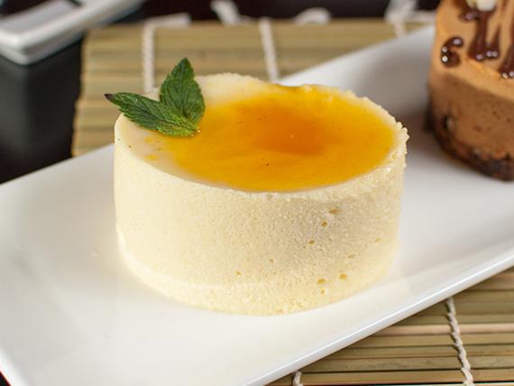 Mousse de maracuyá y mango