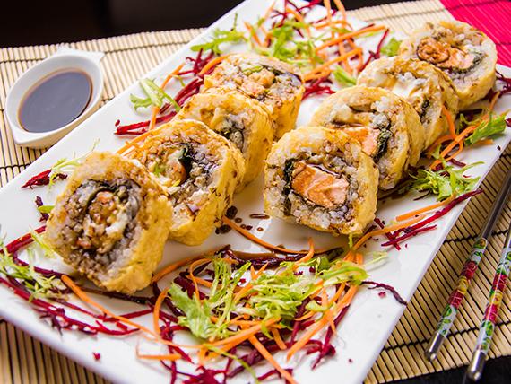 Ebi tempura de langostinos