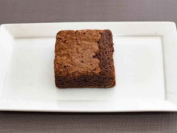 Cuadrado de brownie