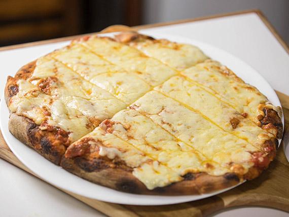 19a - Pizzeta con muzzarella