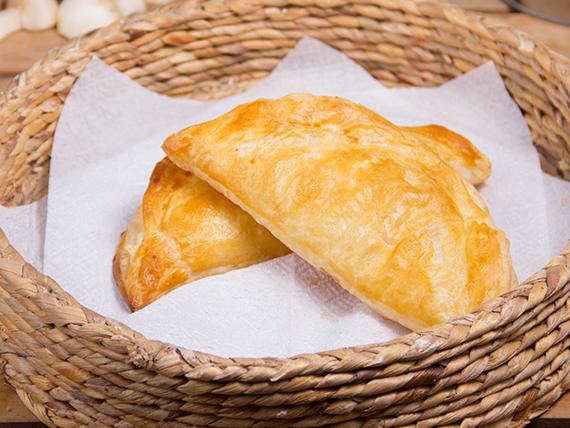 Empanada de hoja de queso (unidad)