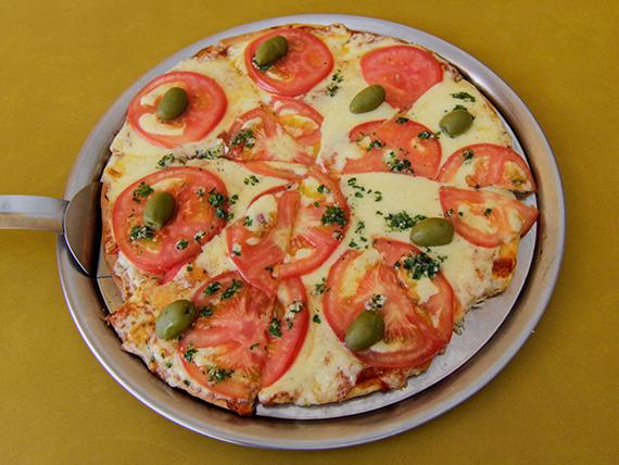 Pizza con napolitana