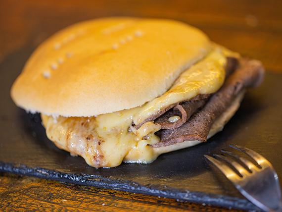 Sándwich barros luco (2 unidades)