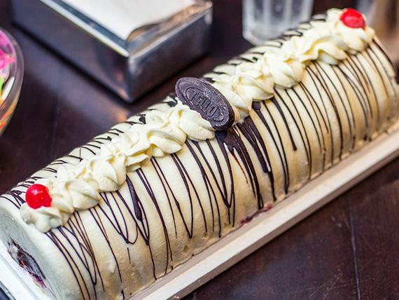 Tarta helada delicia Americana (15 porciones)