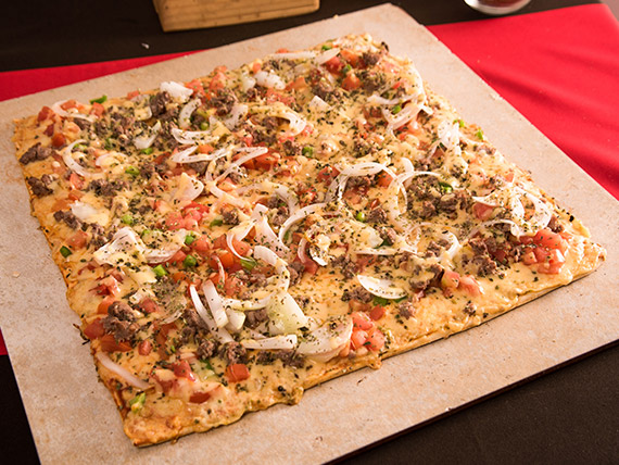 Pizza la ranchera mediana