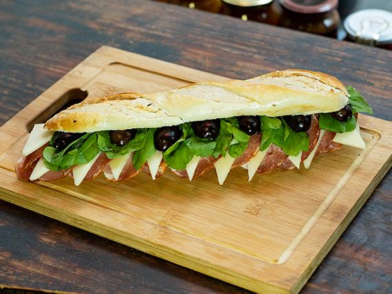 Sándwich español de lomo