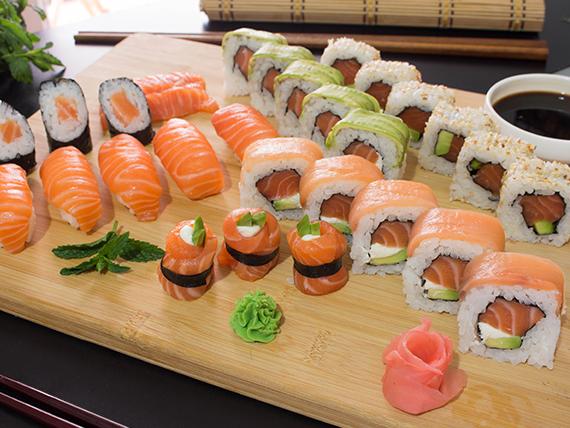 Combinado salmón - 30 piezas