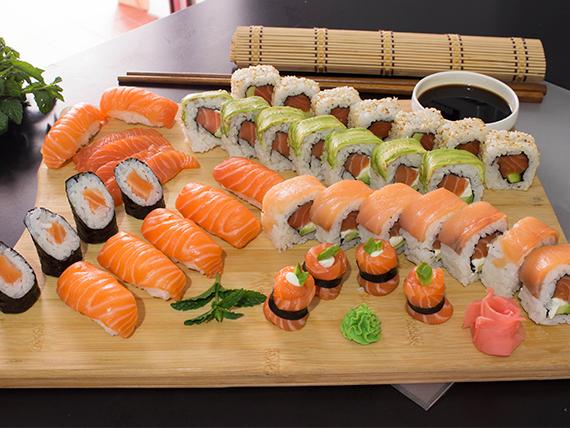 Combinado salmón - 40 piezas