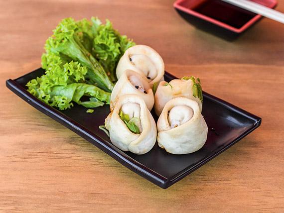 Gyozas de camarón (5 unidades)