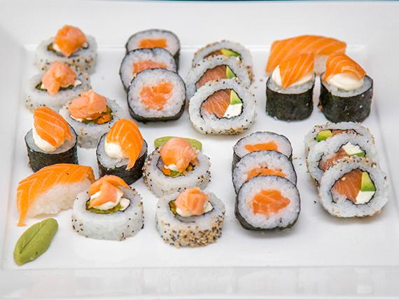 Tabla de salmón (24 piezas)