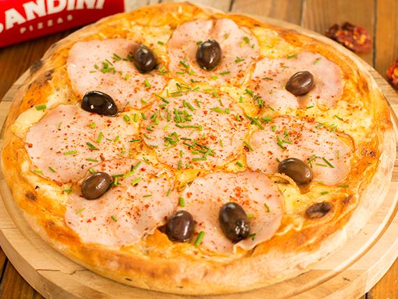 Pizza  lomo ahumado