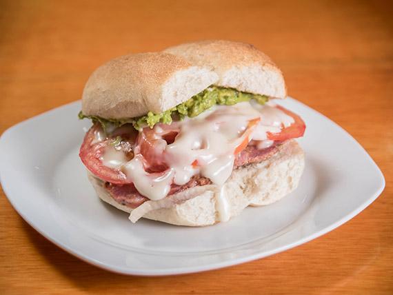 Sándwich de plateada italiana