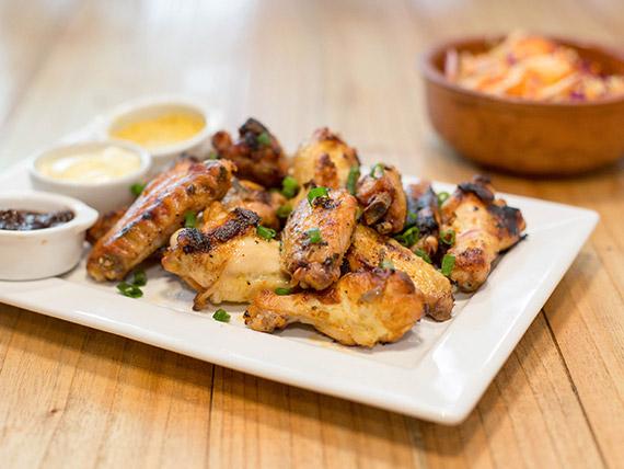 Alitas de pollo lima chili thai