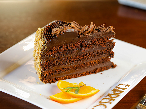 Torta de dulce de leche y chocolate