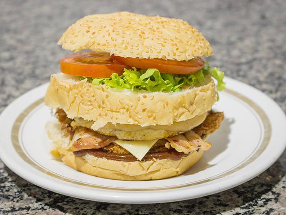 Hambúrguer grand Opala chiken