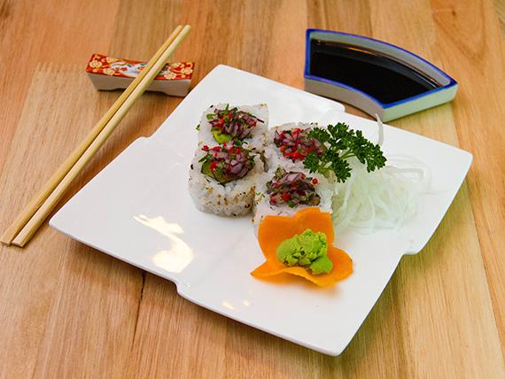 Ceviche roll (10 unidades)