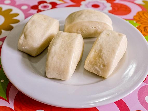 8 - Pan chino hervido (4 unidades)