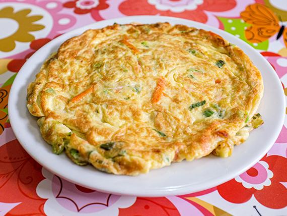131 - Omelette de verdura