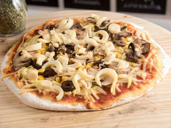 Pizza vegana personal