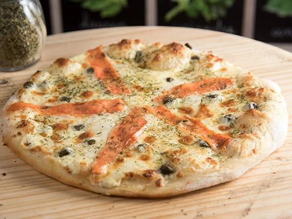 Pizza nórdica personal