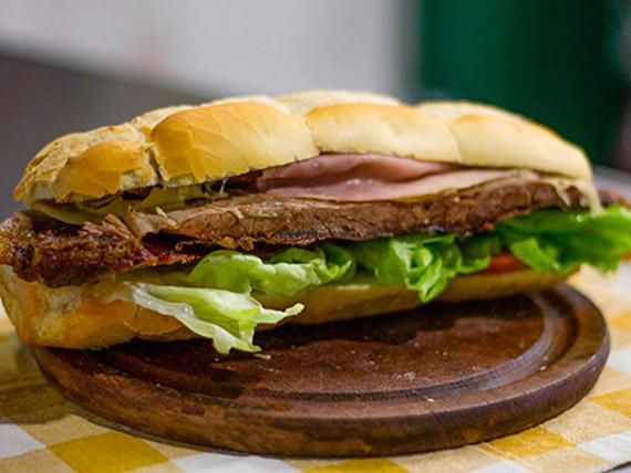 Sándwich de vacío completo