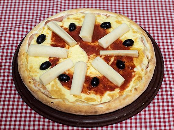 18 - Pizza con palmitos